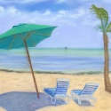 Keys beach scene
